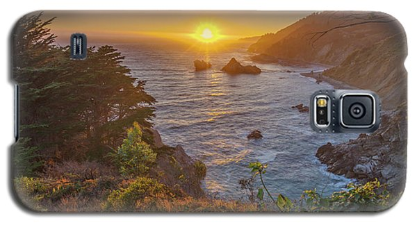 Galaxy S5 Case featuring the photograph Sunset Along Highway 1 Big Sur California by Scott McGuire