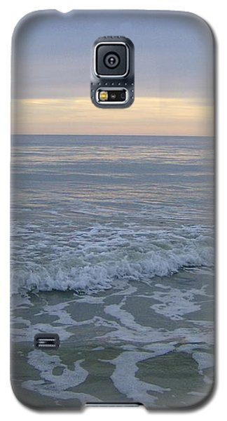 Galaxy S5 Case featuring the photograph Sunset Along Oak Island by Skyler Tipton
