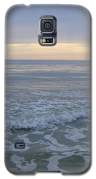 Sunset Along Oak Island Galaxy S5 Case by Skyler Tipton