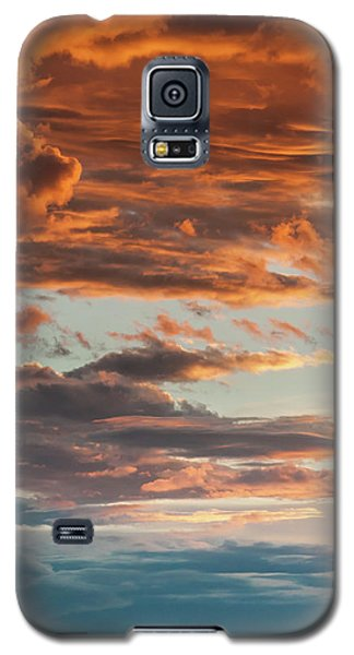 Sunset And Cerro Pedernal Galaxy S5 Case