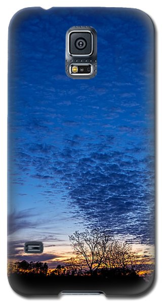 Sunset And Moon Sliver Galaxy S5 Case