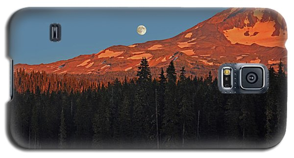 Sunset And Sunrise At Mt Adams Galaxy S5 Case