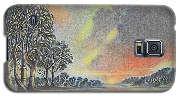 Sunset Angler Galaxy S5 Case