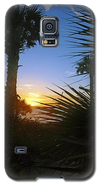 Sunset At Bearefoot Beach In Naples Galaxy S5 Case