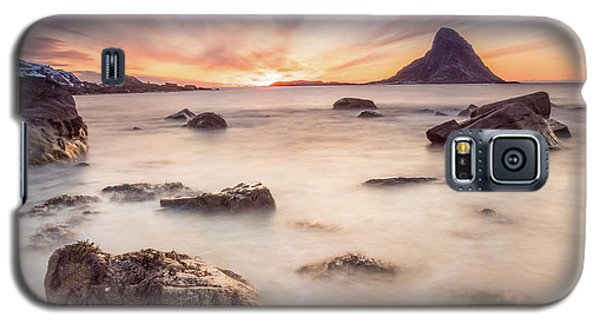 Sunset At Bleik Galaxy S5 Case