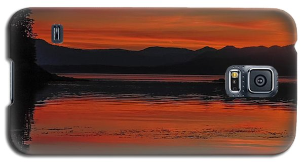 Sunset At Brothers Islands Galaxy S5 Case