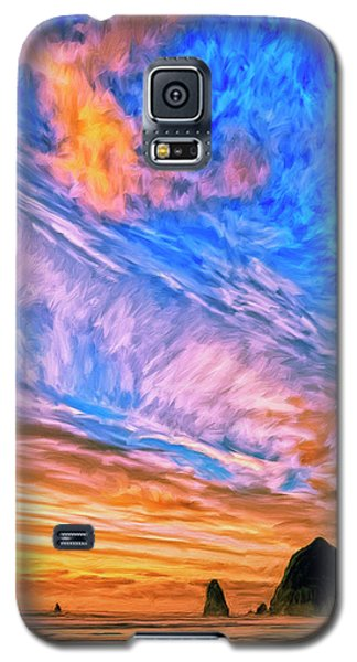 Sunset At Cannon Beach Galaxy S5 Case