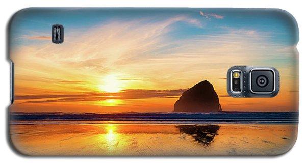 Sunset At Cape Kiwanda Galaxy S5 Case