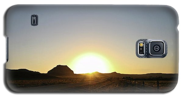Sunset At Castle Butte Sk Galaxy S5 Case