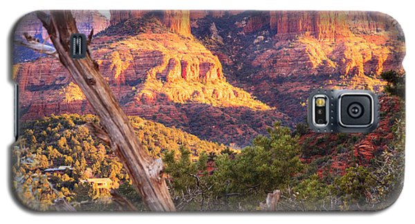 Sunset At Cathedral Rock Galaxy S5 Case