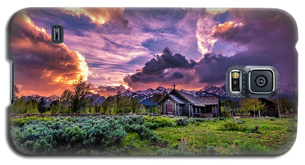 Sunset At Chapel Of Tranquility Galaxy S5 Case