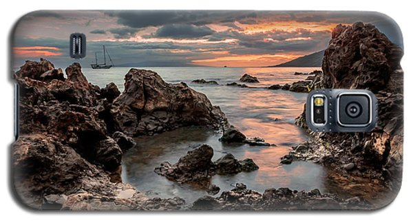 Sunset At Charley Young Beach Galaxy S5 Case