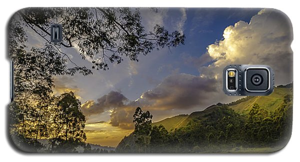 Sunset At Cocora Galaxy S5 Case