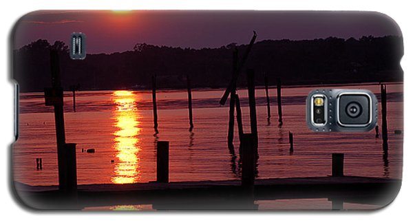 Sunset At Colonial Beach Galaxy S5 Case