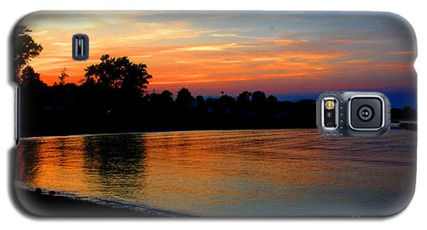 Sunset At Colonial Beach Cove Galaxy S5 Case