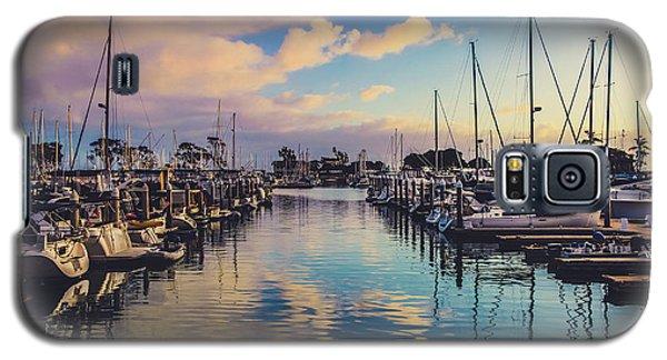 Sunset At Dana Point Harbor Galaxy S5 Case