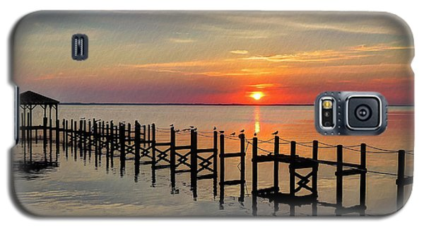 Sunset At Duck Obx Galaxy S5 Case