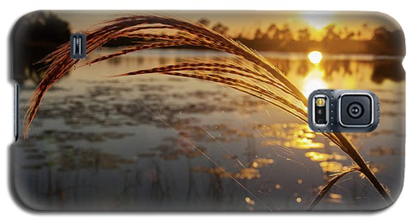 Galaxy S5 Case featuring the photograph Sunset At Gator Hole 2 by Arthur Dodd