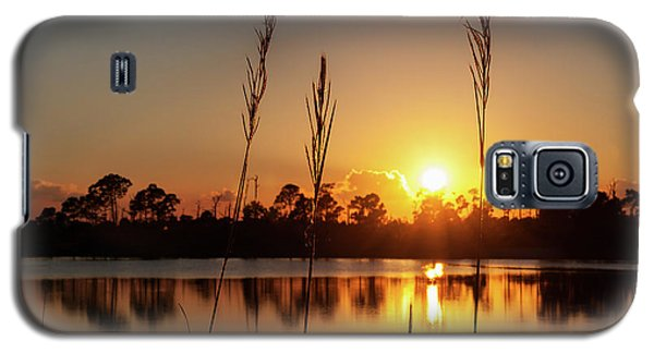 Sunset At Gator Hole 3 Galaxy S5 Case