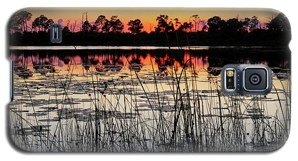 Sunset At Gator Hole Galaxy S5 Case
