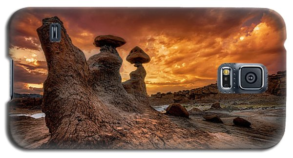 Sunset At Goblin Valley Galaxy S5 Case