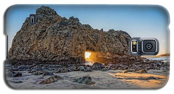 Sunset At Hole In The Rock Galaxy S5 Case by James Hammond