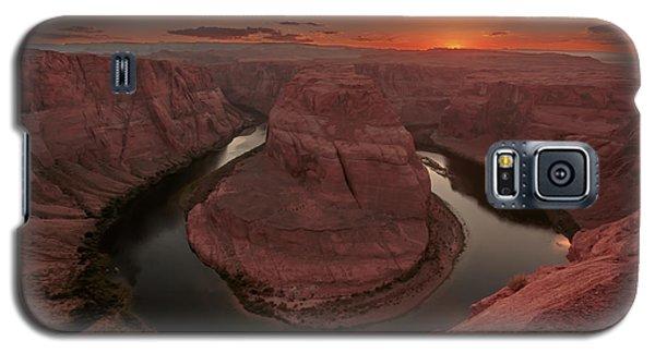 Sunset At Horseshoe Bend Galaxy S5 Case
