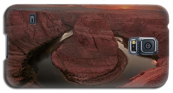 Sunset At Horseshoe Bend Galaxy S5 Case