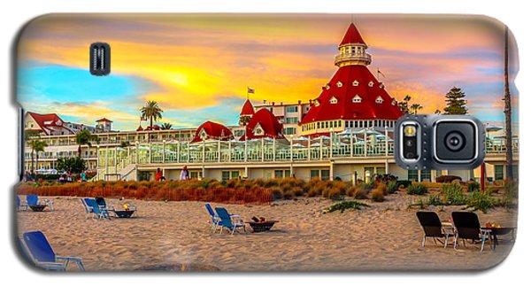 Sunset At Hotel Del Coronado Galaxy S5 Case