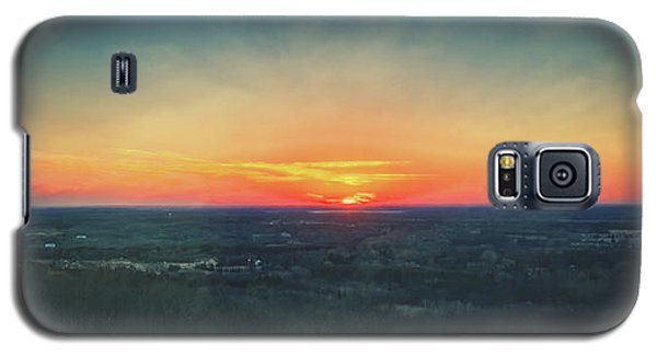 Galaxy S5 Case featuring the photograph Sunset At Lapham Peak #3 - Wisconsin by Jennifer Rondinelli Reilly - Fine Art Photography