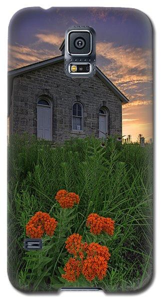 Sunset At Lower Fox Creek Schoolhouse Galaxy S5 Case