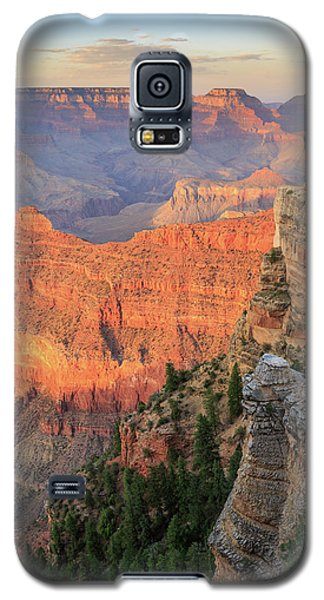 Galaxy S5 Case featuring the photograph Sunset At Mather Point by David Chandler