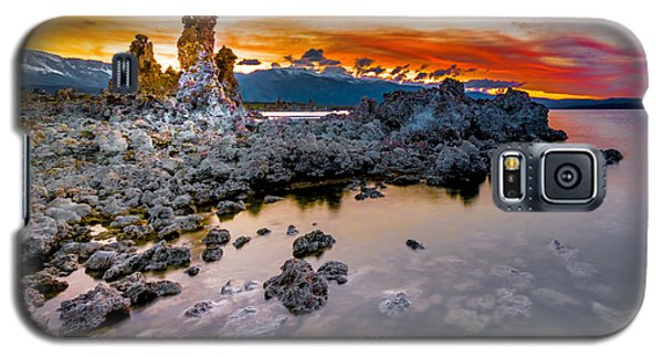 Sunset At Mono Lake Galaxy S5 Case
