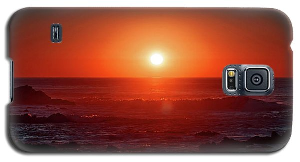 Sunset At Monterey Galaxy S5 Case