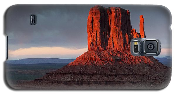 Sunset At Monument Valley Galaxy S5 Case