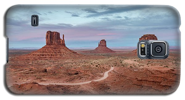 Sunset At Monument Valley No.1 Galaxy S5 Case