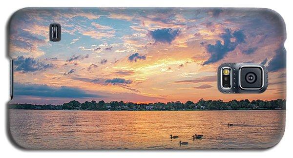 Sunset At Morse Lake Galaxy S5 Case