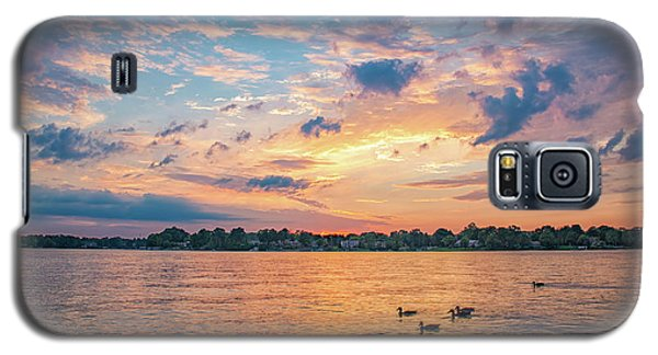 Sunset At Morse Lake Galaxy S5 Case