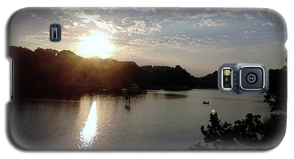 Sunset At Occoquan Galaxy S5 Case