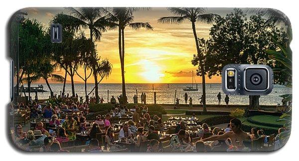 Sunset At Old Lahaina Luau #1 Galaxy S5 Case