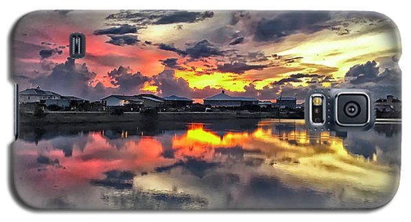 Sunset At Oyster Lake Galaxy S5 Case by Walt Foegelle