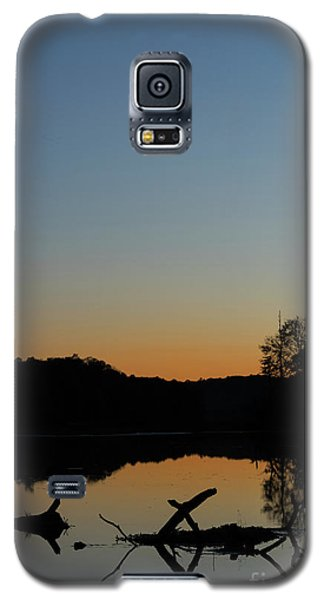 Sunset At Paulinskill Lake Galaxy S5 Case
