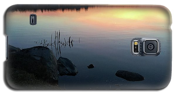Sunset At Pentwater Lake Galaxy S5 Case