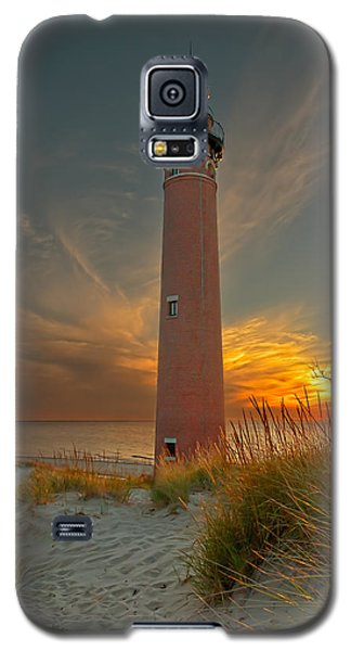 Sunset At Petite Pointe Au Sable Galaxy S5 Case