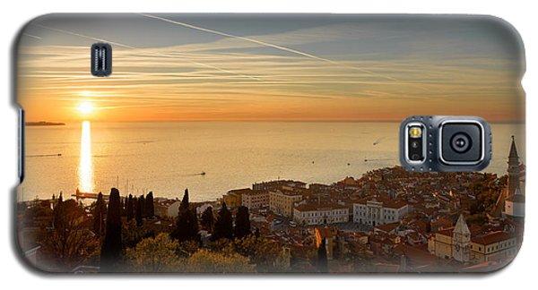 Sunset At Piran Galaxy S5 Case