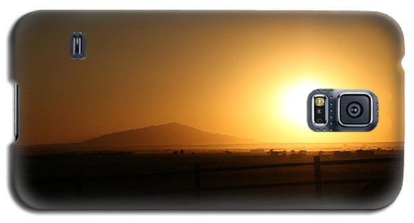 Sunset At Roswell New Mexico  Galaxy S5 Case