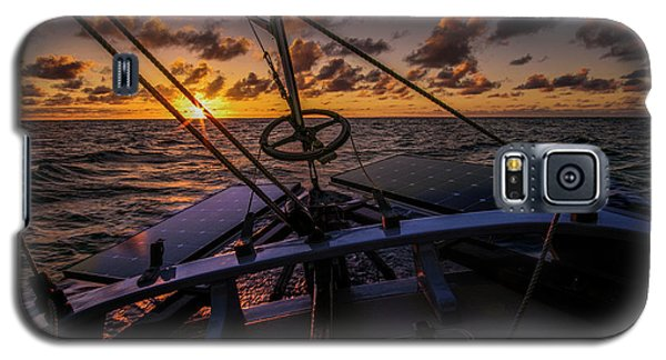 Sunset At Sea Galaxy S5 Case