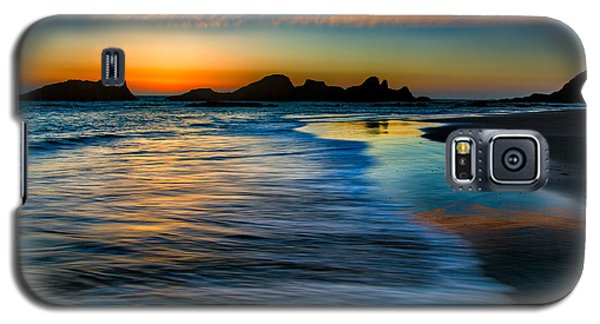 Sunset At Seal Rock Oregon Galaxy S5 Case