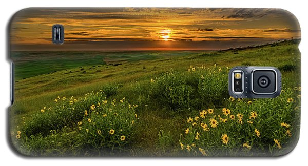 Sunset At Steptoe Butte Galaxy S5 Case
