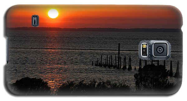 Galaxy S5 Case featuring the photograph Sunset At St.marks Nwf by Barbara Bowen